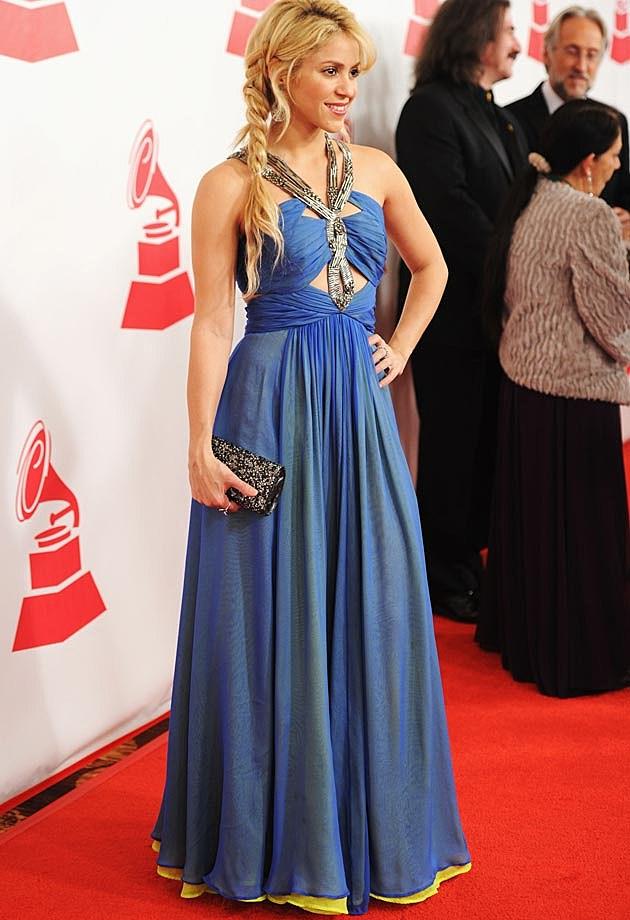 Shakira Blue Dress