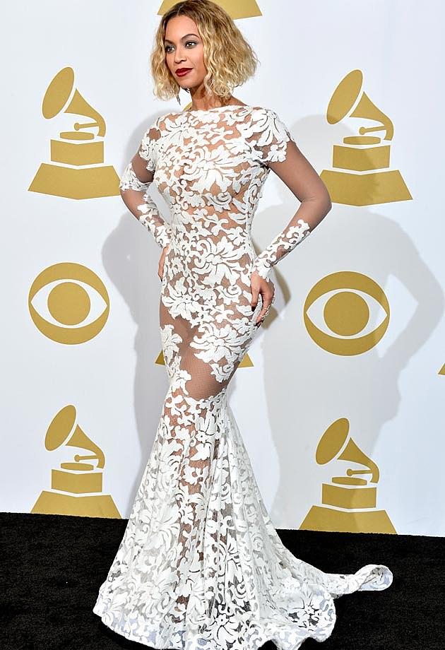 Beyonce Michael Costello 2014 Grammys