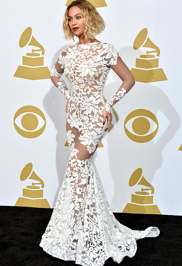 Beyonce Grammys Michael Costello Front