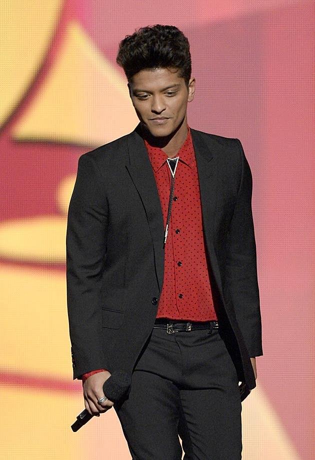 Bruno Mars 2014 Grammys