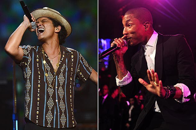 Bruno Mars Pharrell Williams