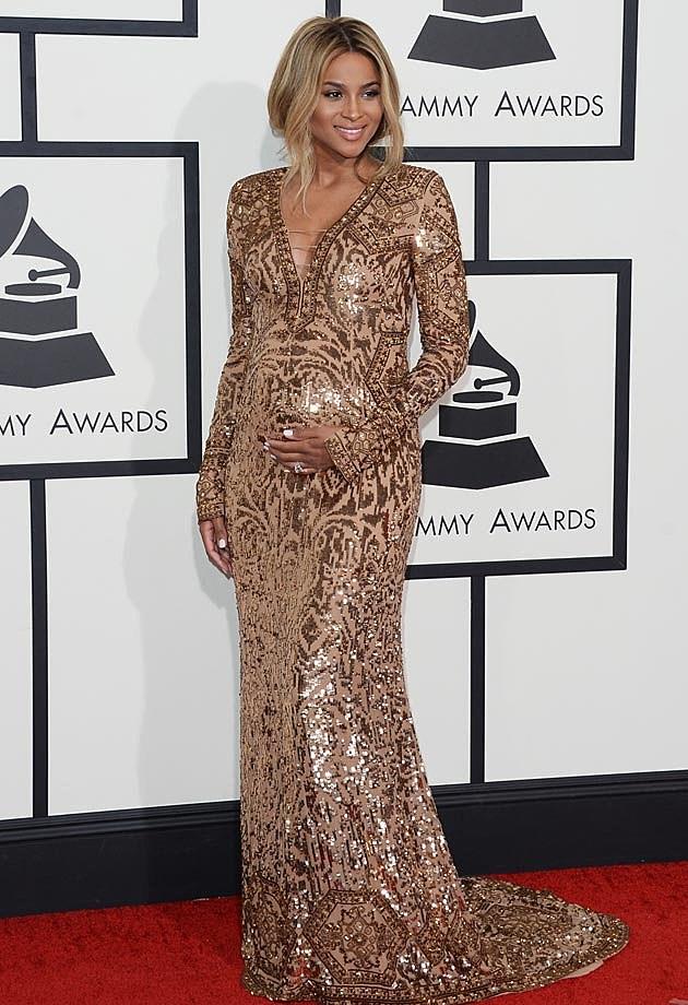 Ciara 2014 Grammys Pucci
