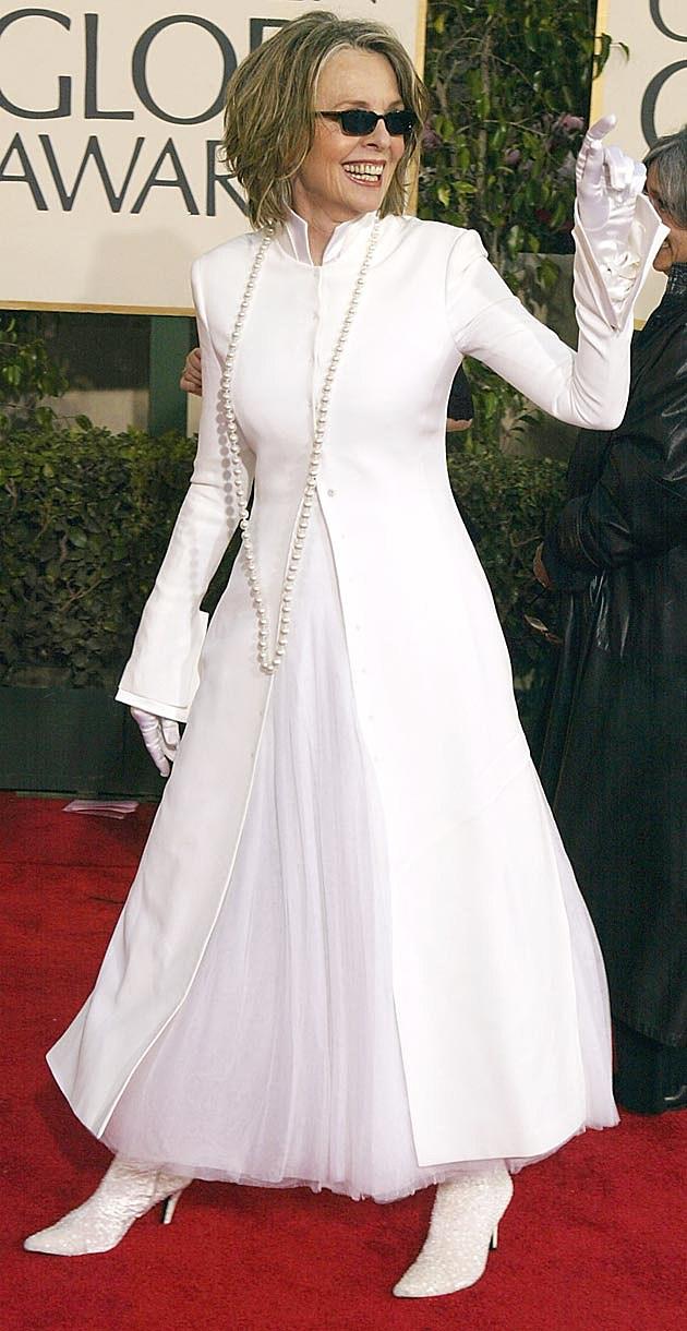 Diane Keaton White 2004 Golden Globes