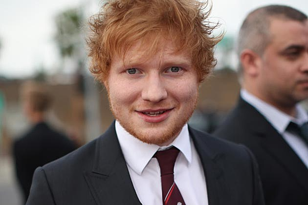 Ed sheeran is a proper english gent so it s no surprise that the