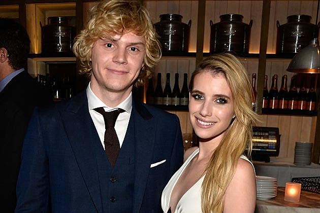 Emma Roberts Evan Peters Engaged