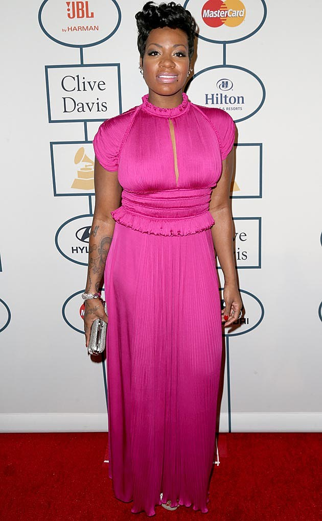 Fantasia Clive Davis Grammy Party