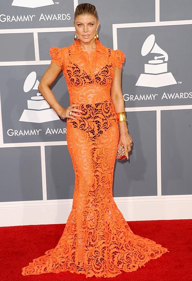 Fergie 2012 Grammys