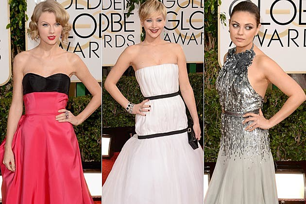 2014 Golden Globes Best Dressed