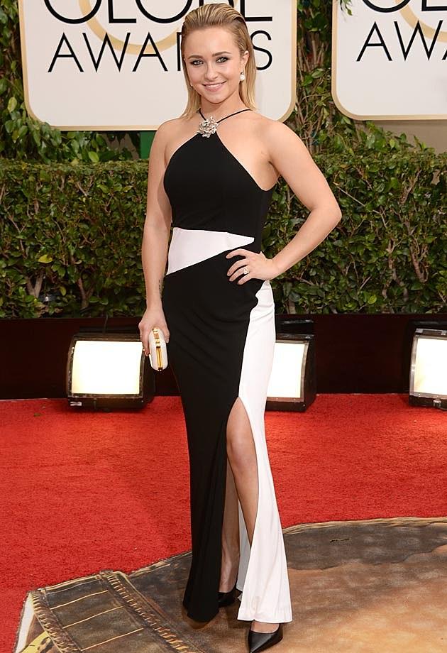 Hayden Panettiere 2014 Golden Globes