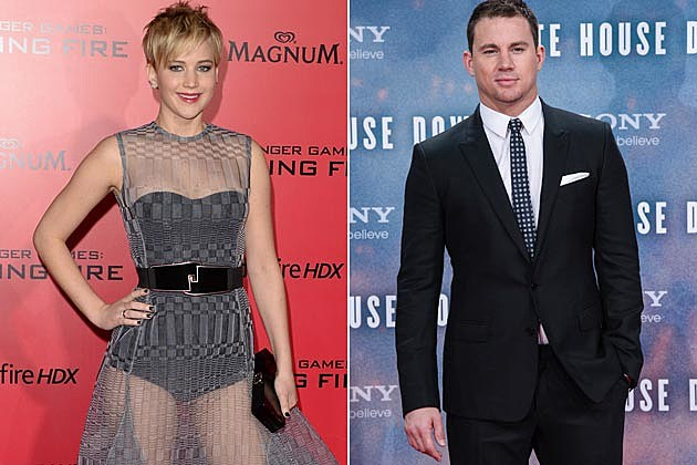 Jennifer Lawrence Channing Tatum GGs Presenters