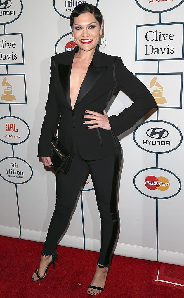 Jessie J Clive Davis Grammy Party