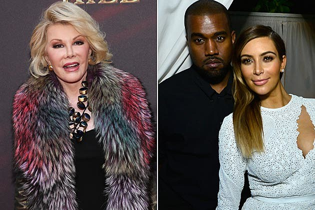 Joan Rivers Kanye Kim North Ugly