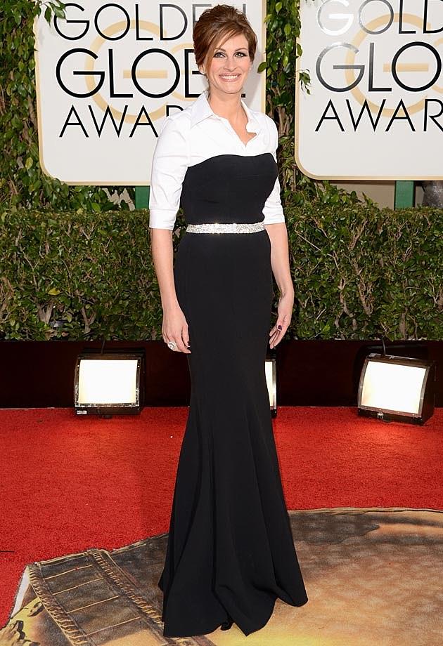 Julia Roberts Dolce & Gabbana 2014 Golden Globes