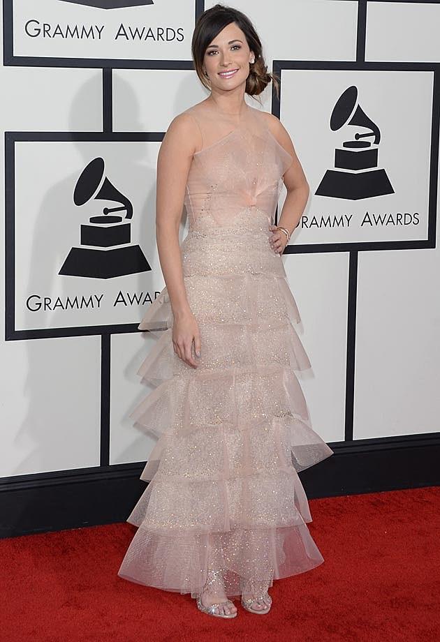 Kacey Musgraves 2014 Grammys Armani Prive