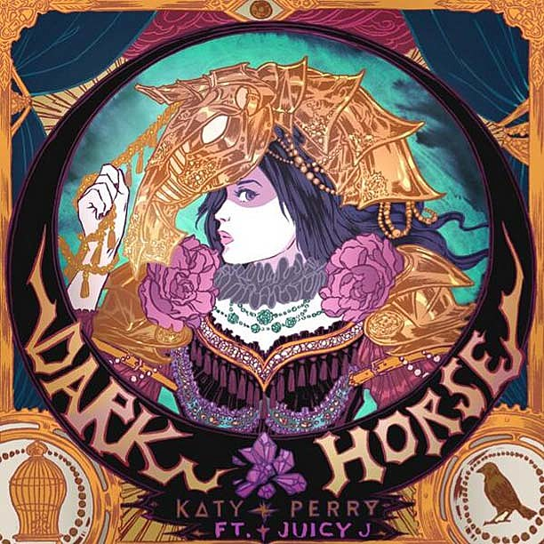 Katy Perry Dark Horse Single
