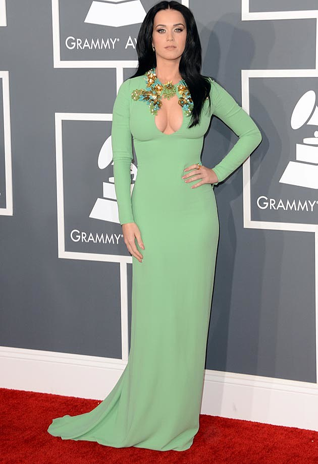 Katy Perry Gucci 2013 Grammys