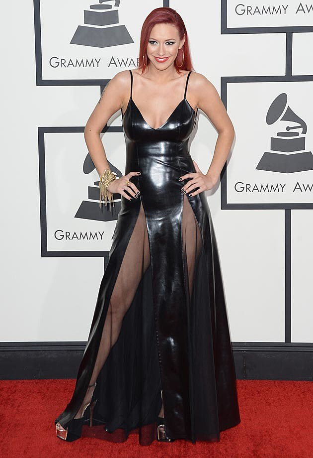 Kaya Jones 2014 Grammys