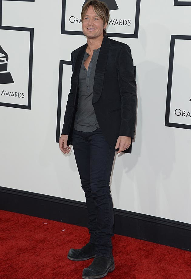 Keith Urban 2014 Grammys
