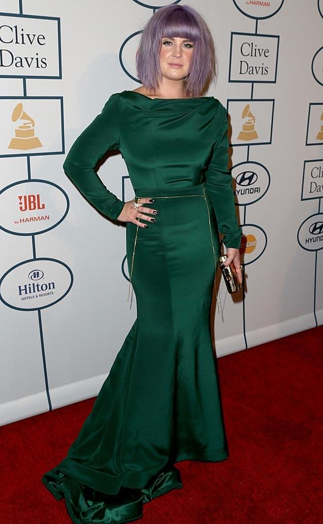 Kelly Osbourne Clive Davis Grammy