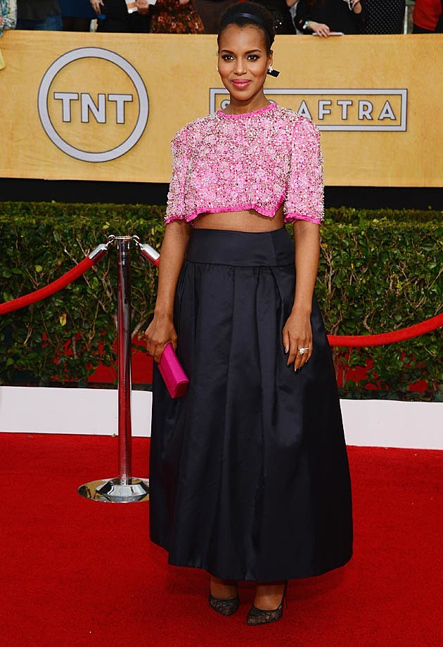Kerry Washington 2014 SAG Awards Prada