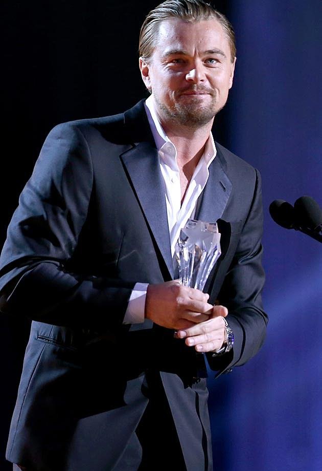 Leo DiCaprio Critics Choice 2014