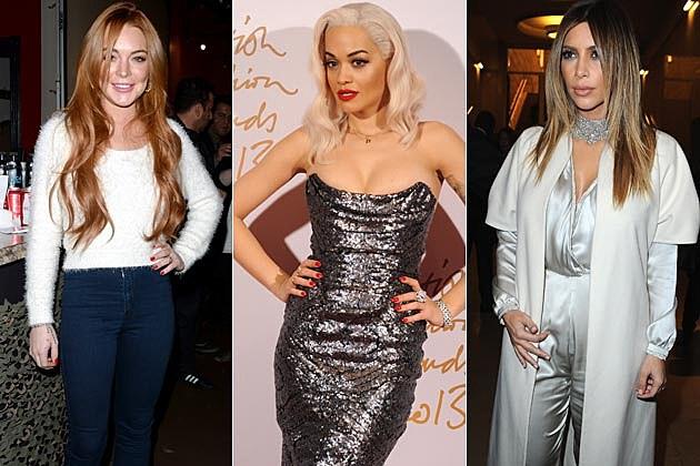 Lindsay Lohan Rita Ora Kim Kardashian Eating