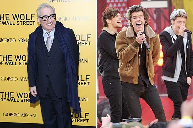 Martin Scorsese One Direction Movie