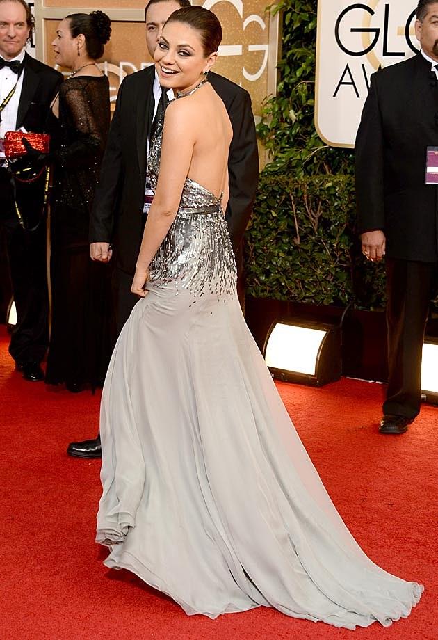 Mila Kunis 2014 Golden Globes