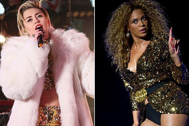 Miley Cyrus Beyonce