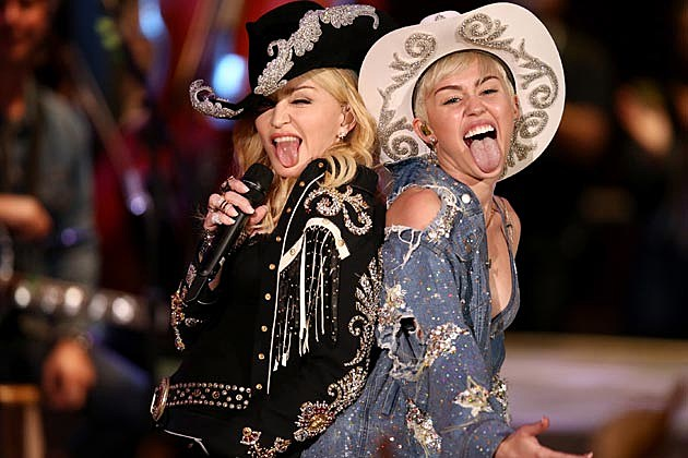 Miley Cyrus Madonna Cowgirl Hats MTV Unplugged