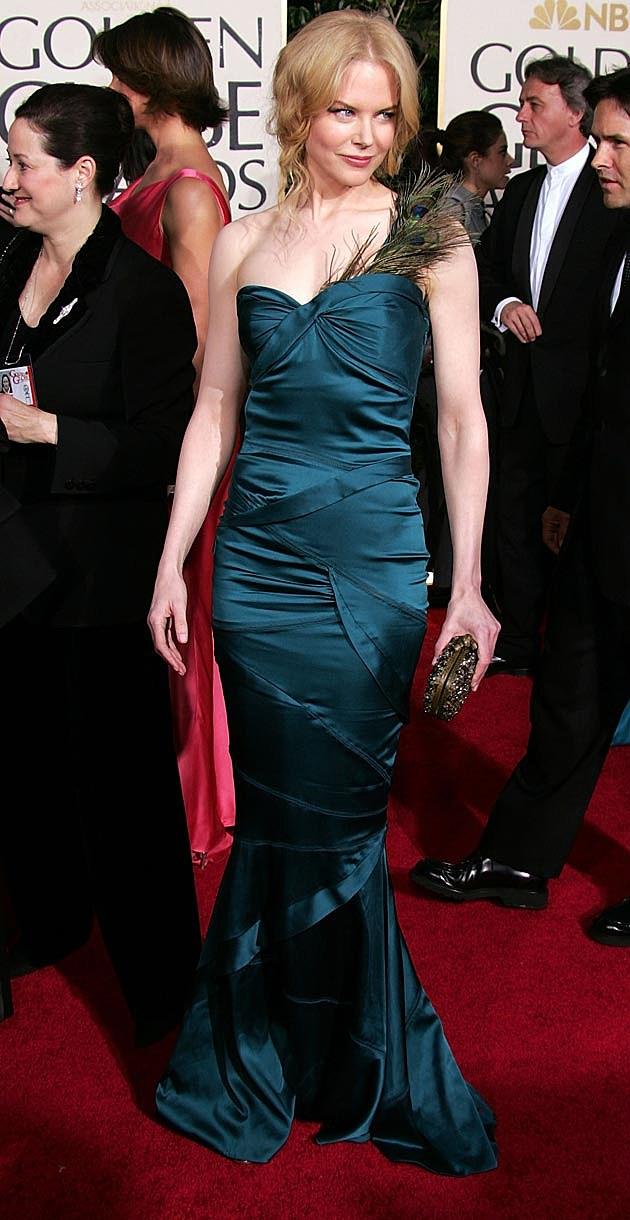 Nicole Kidman 2005 Golden Globes Gucci