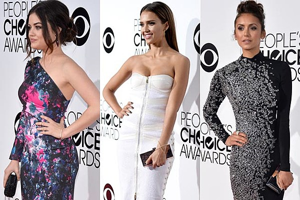 2014 Peoples Choice Awards Red Carpet See Best Worst Looks ...