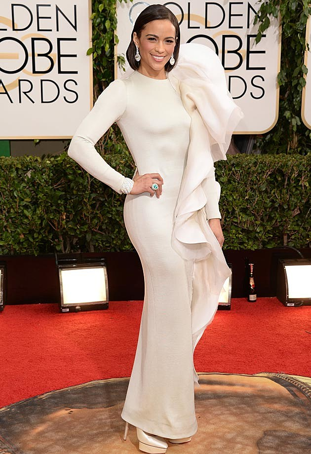Paula Patton 2014 Golden Globes Stephane Rolland
