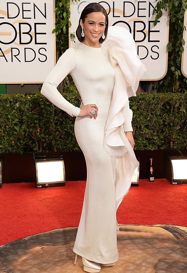 Paula Patton 2014 Golden Globes Stephane Rolland