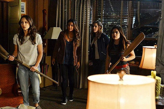Pretty Little Liars 4x15 Love ShAck Baby
