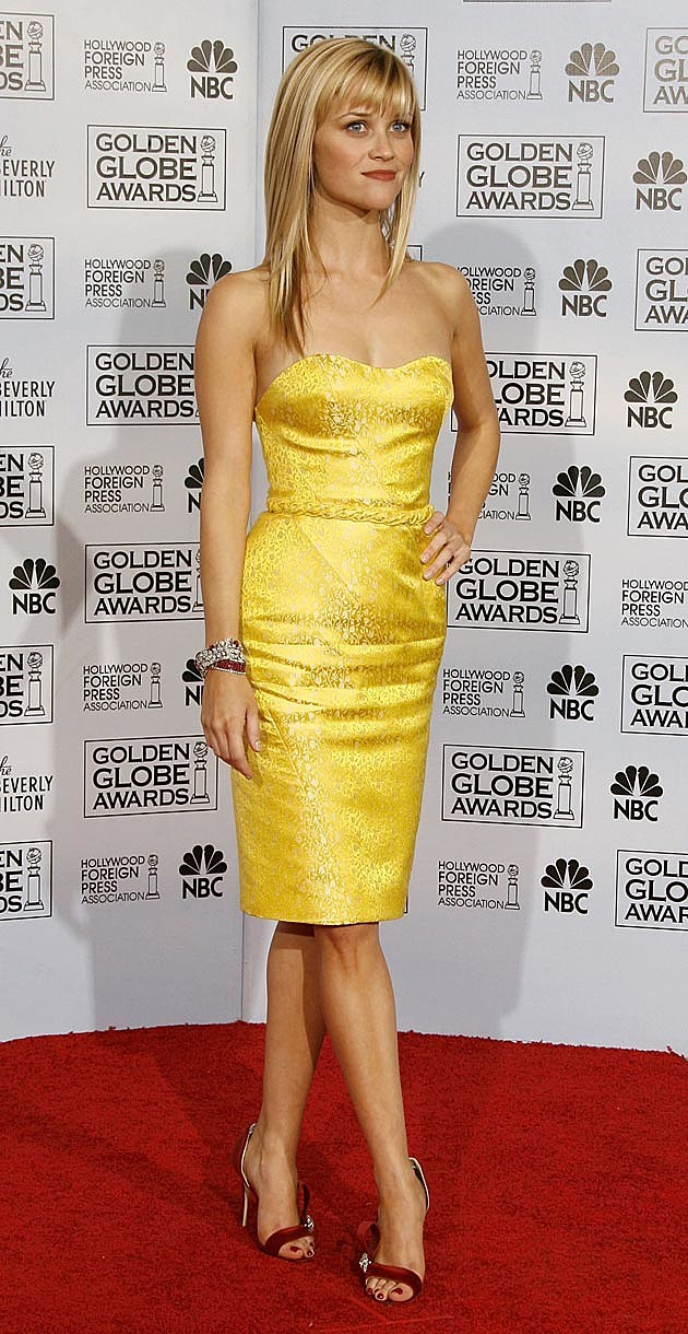Reese Witherspoon 2007 Golden Globes Nina Ricci