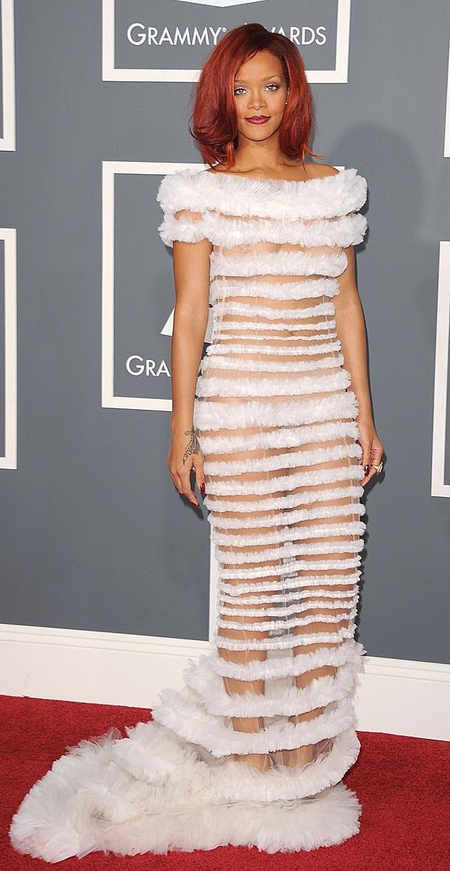 Most Memorable Grammy Dresses [PHOTOS]