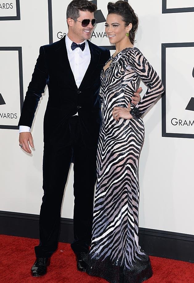 Robin Thicke 2014 Grammys