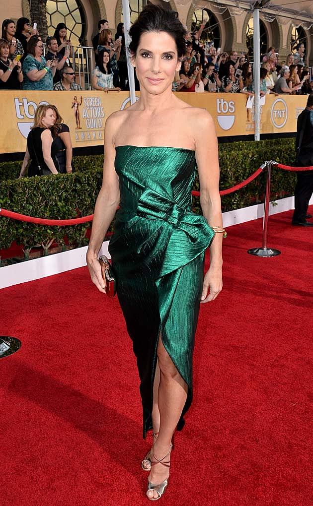 Sandra Bullock 2014 SAG Awards Lanvin