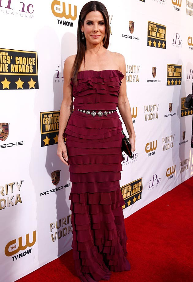 Sandra Bullock Critics Choice 2014
