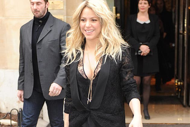 Shakira Self-Titled Album March 25