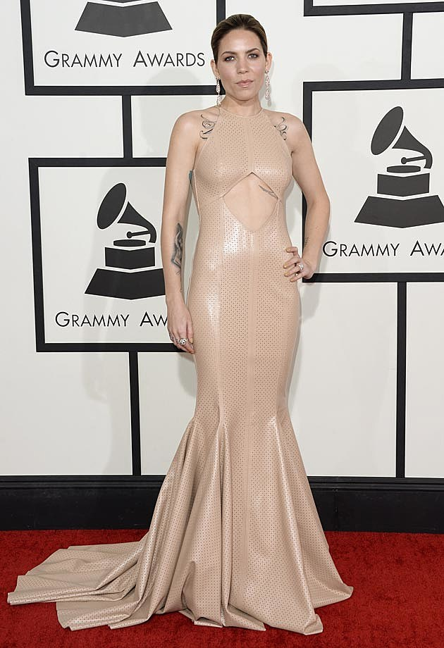 Skylar Grey Michael Costello 2014 Grammys