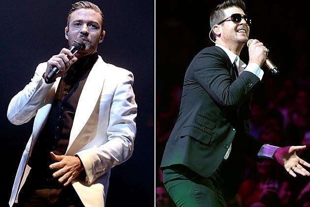 Justin Timberlake Robin Thicke