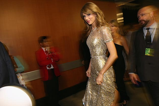 Taylor Swift Grammys Backstage