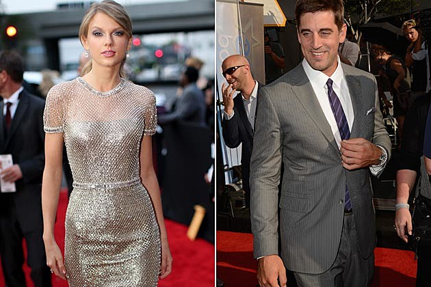 Taylor Swift Aaron Rodgers