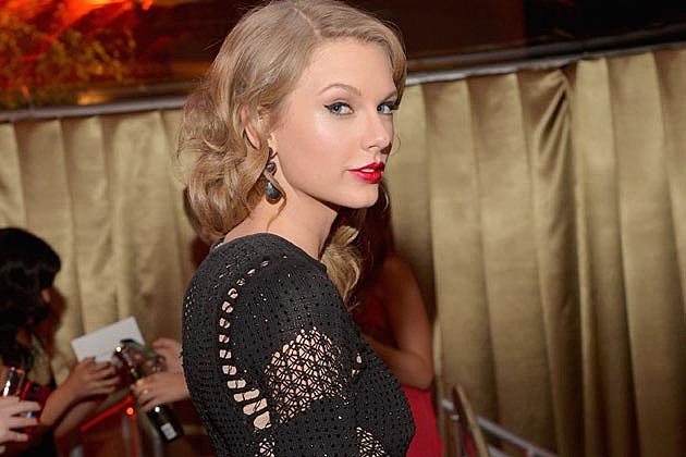 Taylor Swift Golden Globes After Party 2014