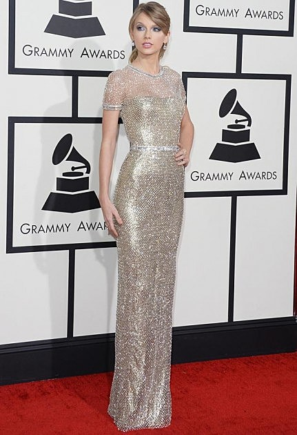 Taylor Swift 2014 Grammys Gucci