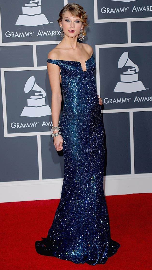 Taylor Swift 2010 Grammys Kaufman Franco