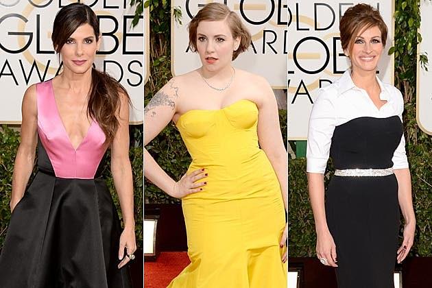 2014 Golden Globes Worst Dressed