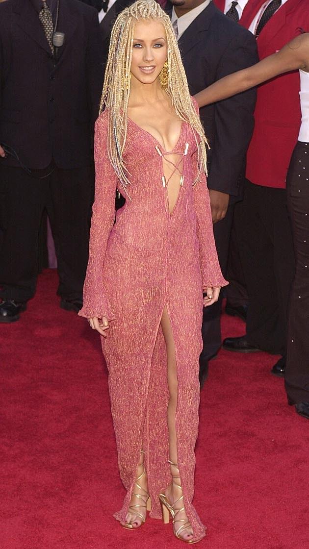 Christina Aguilera 2001 Grammys